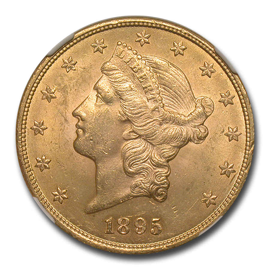 1895 $20 Liberty Gold Double Eagle MS-63 NGC